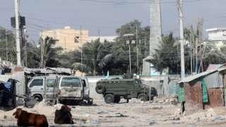 19 Şubat'ta Mogadişu'da Türkiye'nin Somali güvenlik güçlerine hibe ettiği 'kirpi' zırhlı araçları da muhaliflere karşı sokaklara konuşlandırıldı.