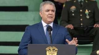 Colombian President Iván Duque