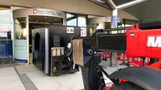 Guernsey Airport scanner
