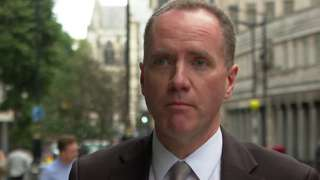 Richard Hughes, chairman of the Office for Budget Responsibility.