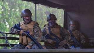 Militares en macrozona sur
