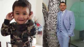 Adnan Ashraf Jarral and his son, Usman Adnan Jarral