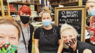 Kitchen Garden Café team
