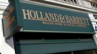 Holland & Barrett sign