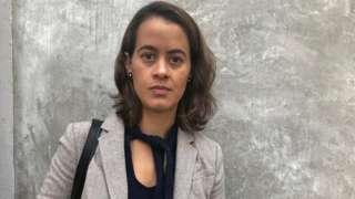 Biani López Antúnez, víctima de abuso sexual de los Legionarios de Cristo.