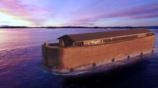 The ark is the largest floating museum in the world