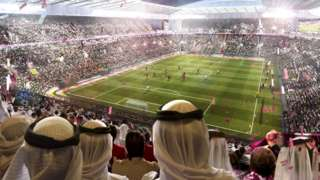 Qatar is hosting the 2022 World Cup