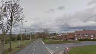 B6116 Huddersfield Road in Kirkburton