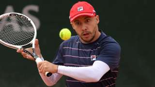 British wheelchair tennis player Andy Lapthorne