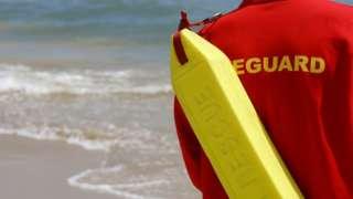 RNLI lifeguard