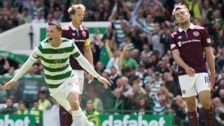 Callum McGregor celebrates