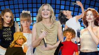 Kylie through the years