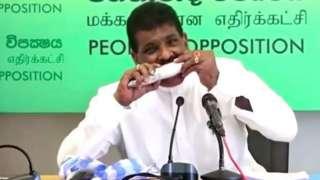 Eski Sri Lanka Balıkçılık Bakanı Dilip Wedaarachchi