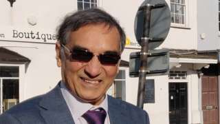 Swindon Borough Councillor Vijay Manro