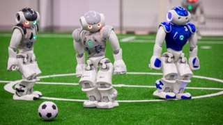 RoboCup robot footballers