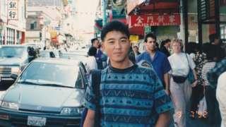 Yoshihiro Hattori en San Francisco en 1992.