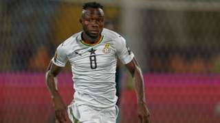 Ghana's Owusu Kwabena