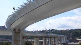 Renzo Piano's new bridge in Genoa