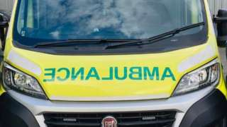 An ambulance from West Midlands Ambulance Service's fleet