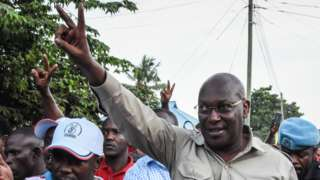 Tanzanian opposition leader Freeman Mbowe