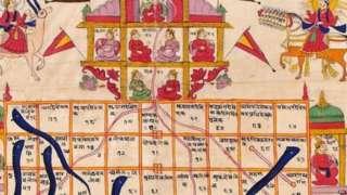 साप-शिडी या खेळामागे हिंदू मुलांना आपली संस्कृतीची शिकवण्याचा उद्देश होता, असं सांगितल्या जातं.