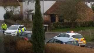 Police in Turvey