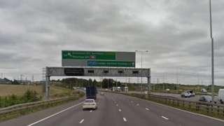 A2 Ebbsfleet junction