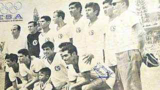 A portrait of the El Salvador team competing in the 1970 World Cup