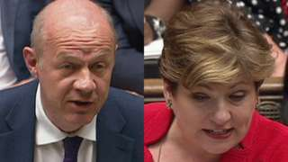 Damian Green and Emily Thornberry