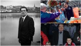John Hume collage
