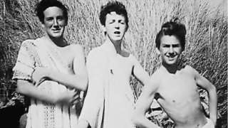 Sir Paul McCartney, George Harrison and John Brierley