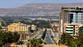 Mekele (Melelle), the capital city of Tigray state