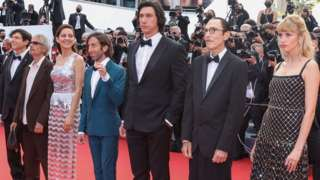 Stars pose on the red carpet at Cannes