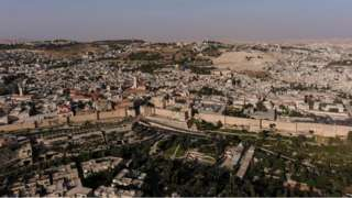 General view of Jerusalem from above (June 2021)