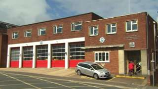 IOW fire station