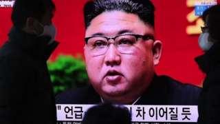올 1월 노동당 제8차 당대회에 참석한 김정은 북한 국무위원장