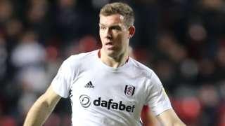 Fulham midfielder Kevin McDonald