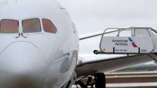 American Airlines jet at Dallas/Fort Worth International Airport
