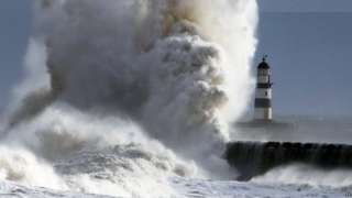 The waves at Seaham