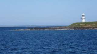 Cava lighthouse in Scapa Flow