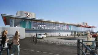 New ferry terminal