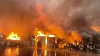 Harrimans Lane fire