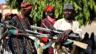 Боевики в Нигерии