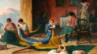 'A Pátria', tela do pintor Pedro Bruno sobre a Proclamação de República feita em 1919