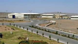 A view of the Natanz uranium enrichment facility