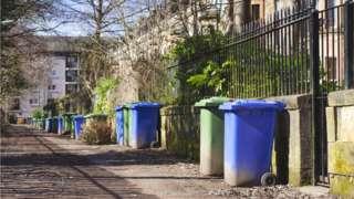 Glasgow bins
