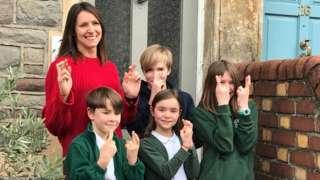 Douglas family school return