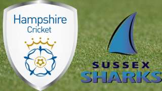 Hampshire v Sussex
