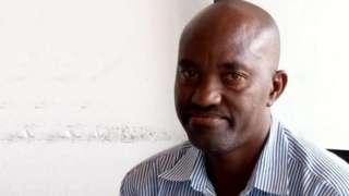 Blaise Pascal Kararumiye umunyamakuru wa Radio Isanganiro mu ntara ya Karuzi mu majyaruguru y'u Burundi