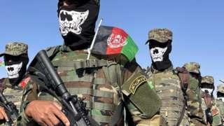 Тренировка спецназа в военной академии в Кабуле